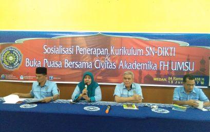 Sosialisasi Penerapan Kurikulum SN-Dikti