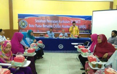 Berbuka puasa bersama Civitas Akademika Fahum UMSU