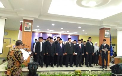 Pelantikan Ketua & Sekretaris Program Studi Serta Kepala Bagian di Lingkungan UMSU