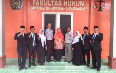 Photo Bersama Pimpinan Fakultas dengan Ka. Bagian Hukum