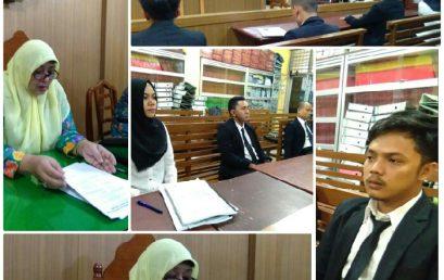Pengumuman Sidang Meja Hijau Skripsi Fakultas Hukum UMSU