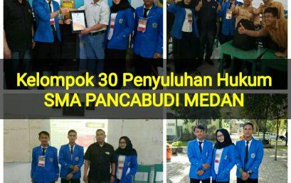 Fakultas Hukum UMSU Penyuluhan Hukum, SMA Panca Budi Medan