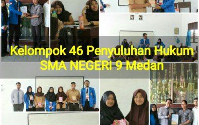 Penyuluhan Hukum Fakultas Hukum UMSU Di SMAN 9 Medan