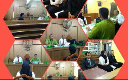 Sidang Meja Hijau Fakultas Hukum UMSU