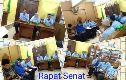 Rapat Senat 2017-2018
