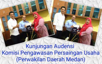 Audiensi Komisi Pengawasan Persaingan Usaha (KPPU)