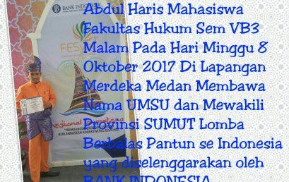 Juara I Lomba Berbalas Pantun Se-Indonesia