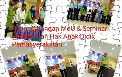 MoU Fakultas Hukum UMSU dengan Yayasan Inspirasi Bangsa & Seminar