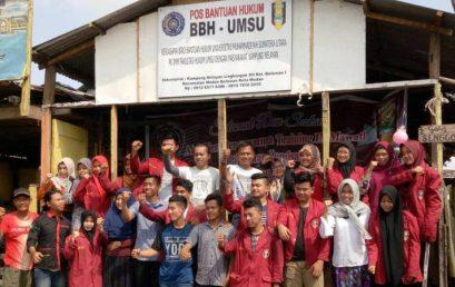BBH UMSU & PK IMM Fahum Dirikan Pos Bantuan Hukum di Kampung Nelayan Belawan