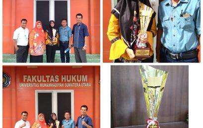 Juara I Lomba Cipta Karya Tulis Tingkat Mahasiswa