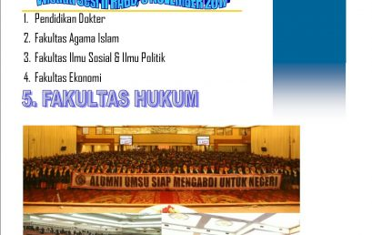 Sekilas Info Wisuda Fakultas Hukum UMSU Periode II Tahun 2017