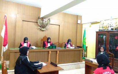 Kegiatan Kemahiran Hukum III (Peradilan Semu) Fakultas Hukum UMSU
