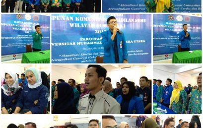 Rapat Koordinasi Wilayah (RAKORWIL) Peradilan Semu Se-Sumatera Utara