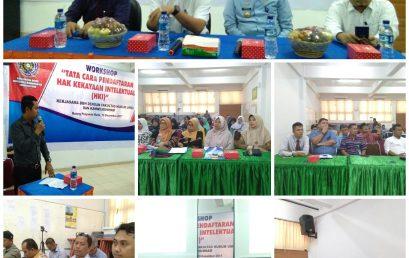"Workshop ""Tata Cara Pendaftaran Hak Kekayaan Intelektual (HKI)"