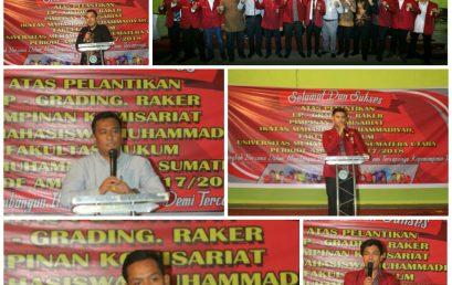Pelantikan PK IMM Fakultas Hukum Periode 2017-2018