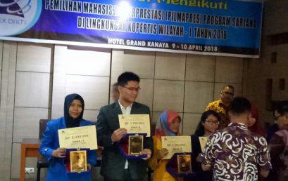 UMSU Juara 1 Pilmapres Tingkat Kopertis Wilayah-I Tahun 2018