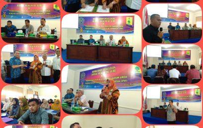 WORKSHOP PENULISAN JURNAL HUKUM DE JURE & MoU FAKULTAS HUKUM DENGAN IKATAN PENELITIAN HUKUM INDONESIA (IPHI)