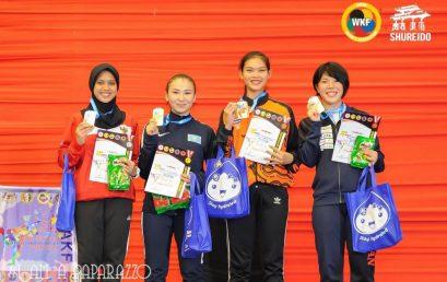 NICKY DWI OTARI MERAIH JUARA 2 AJANG KARATE 18TH AKF CHAMPIONSHIPS 2019