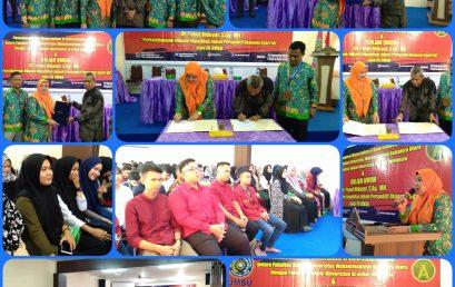 MoU antara Fakultas Hukum UMSU dengan Fakultas Hukum Universitas Al-Azhar Indonesia dan KULIAH UMUM