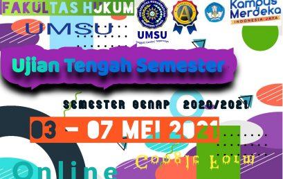 UJIAN TENGAH SEMESTER (UTS) GENAP T.A 2020/2021